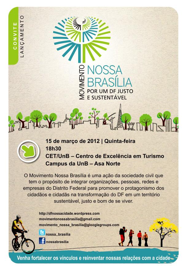 Lançamento do Movimento Nossa Brasília – 15/03/2012