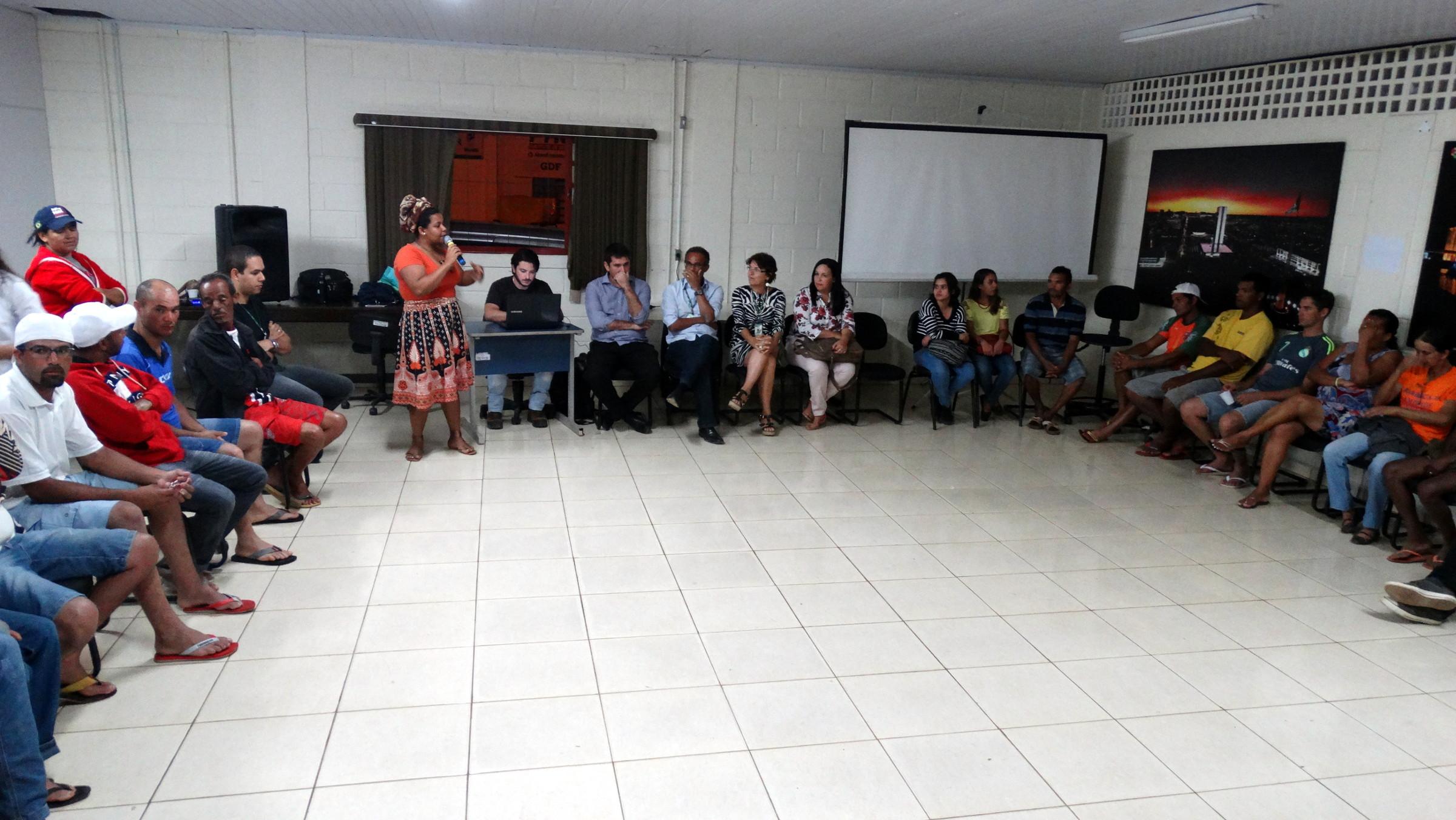 Fórum Lixo & Cidadania se consolida como espaço aberto de diálogo entre GDF, catadores e sociedade civil na Estrutural