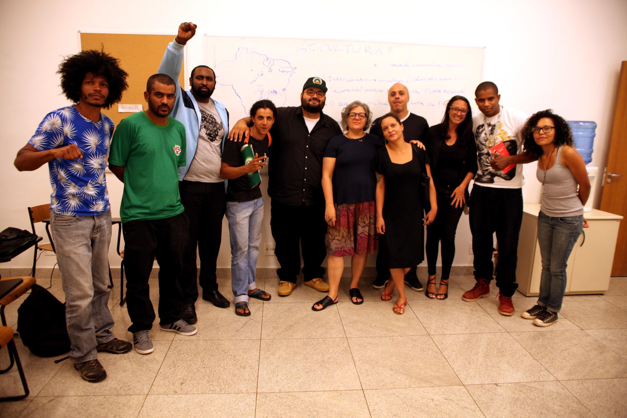 GT de Cultura do Nossa Brasília se reúne pela primeira vez e define ações na área
