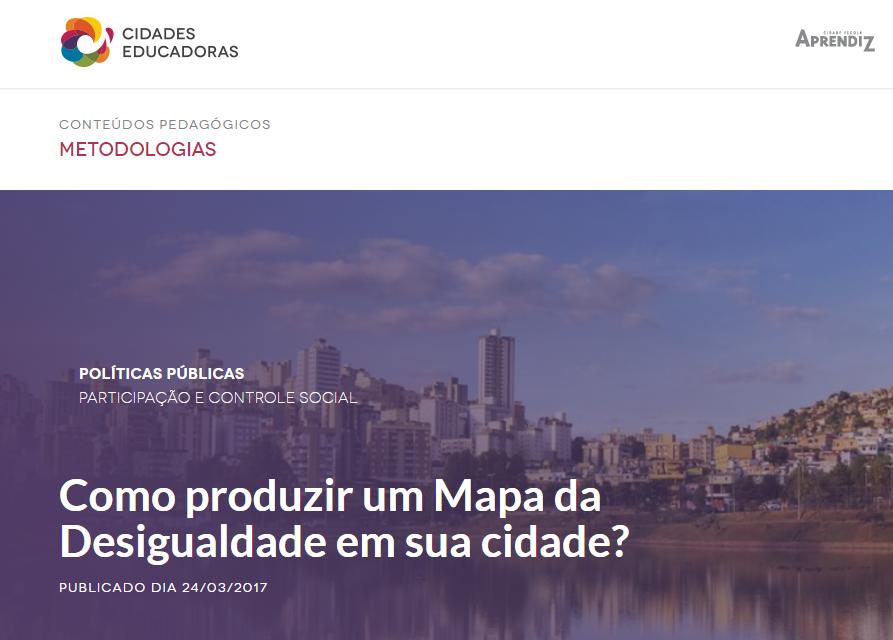 """Nossa Brasília é destaque em matéria do portal """"Cidades Educadoras"""""""