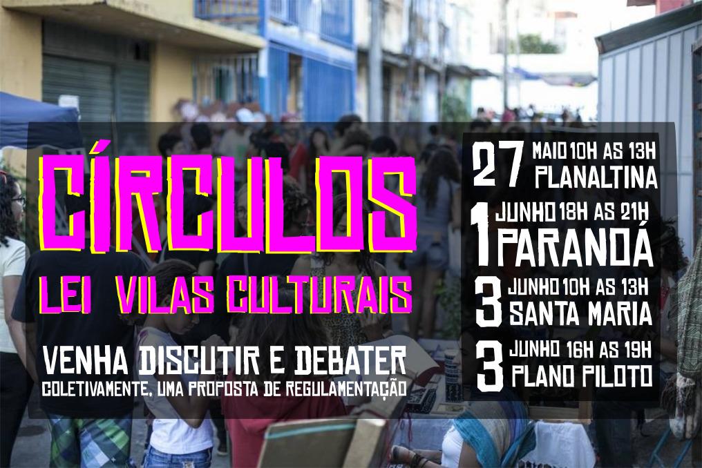 Círculos de Cultura sobre a Lei das Vilas Culturais