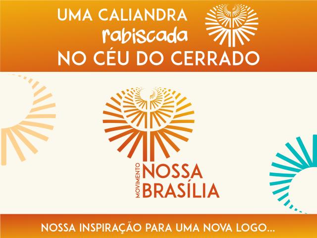 Nova logo do Movimento Nossa Brasília