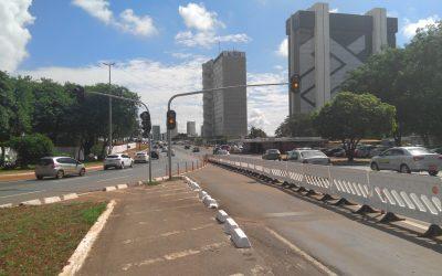 Após um mês do desabamento do Eixão, o rodoviarismo segue firme no Distrito Federal